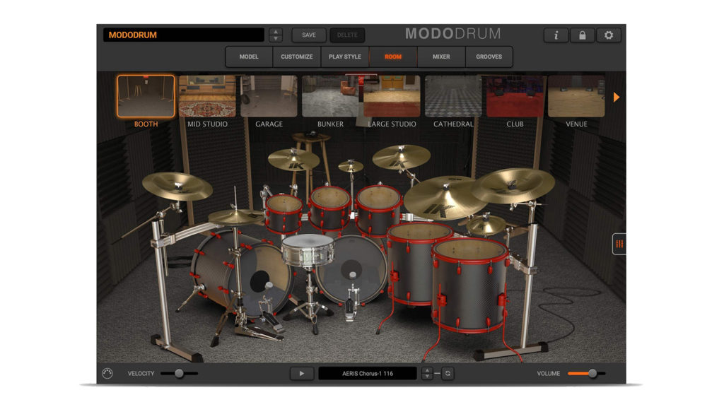 MODO DRUM ROOM