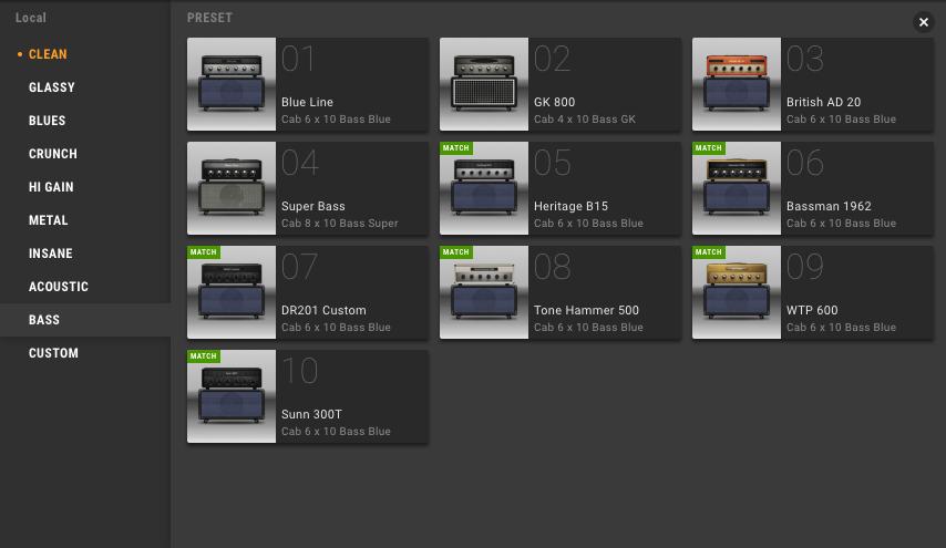 BIAS AMP 2 アンプ