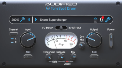 Audified ToneSpot Drum Expressレビュー