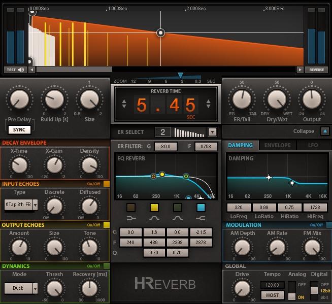 H-Reverb使い方レビュー