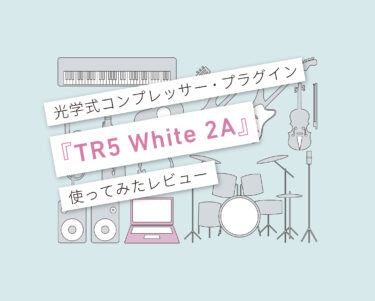 TR5 White 2A 使い方レビュー