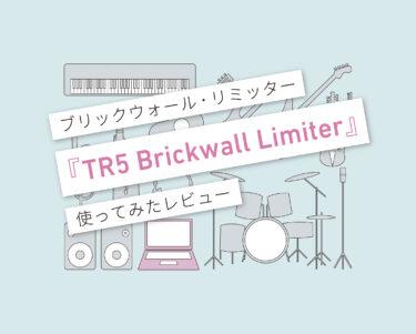 TR5 Brickwall Limiter_使い方レビュー