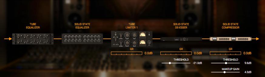 Lurssen Mastering Console-ルーティング