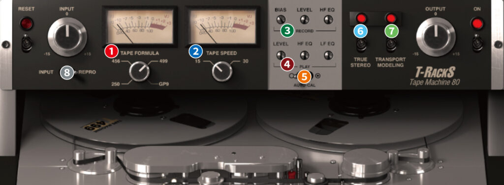 TR5 Tape Machine 80 使い方レビュー