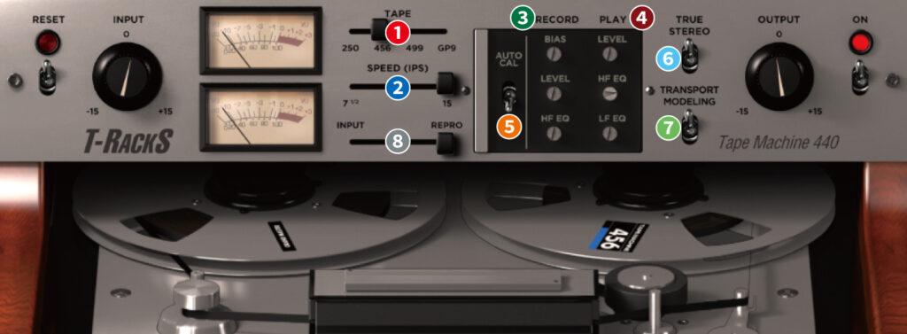 TR5 Tape Machine 440 使い方レビュー